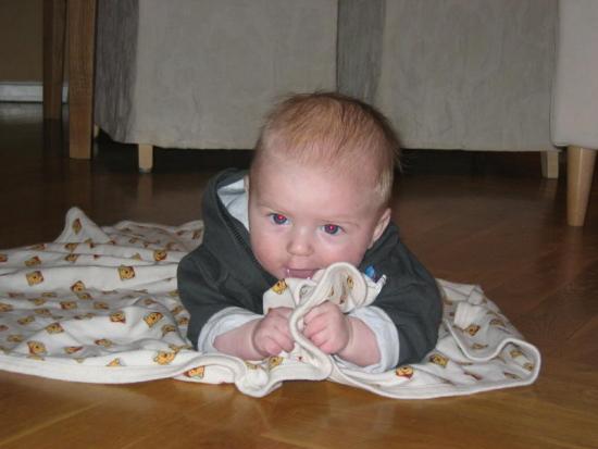 Edwin 3 månader.